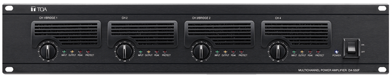 DA-550F Multichannel Power Amplifier