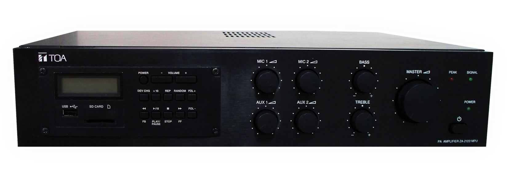 ZA-2120MPU Mixer Power Amplifier with MP3 Player