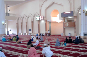Indonesia : Grand Mosque Islamic Center Rokan Hulu, Riau Photos